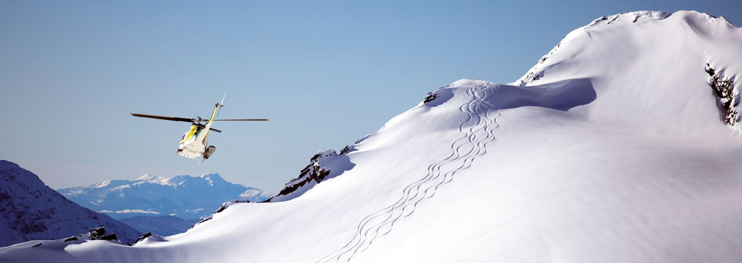 Heli-Skiing Kanada